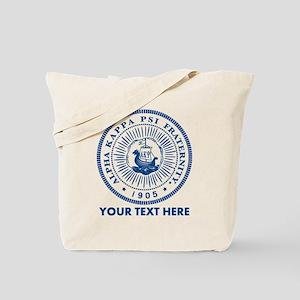 Alpha Kappa Psi Seal Personalized Tote Bag