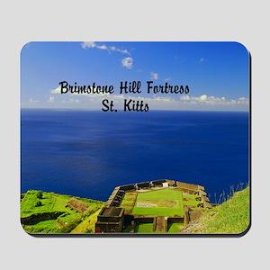 Brimstone Hill Fortress St 18x12 Mousepad