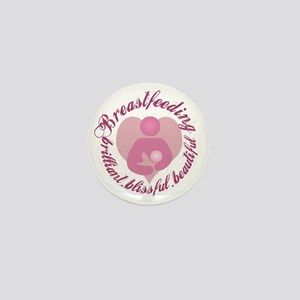 breastfeeding-brilliant-beautiful Mini Button