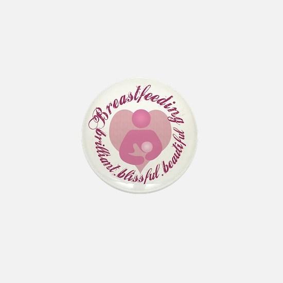 breastfeeding-brilliant-beautiful Mini Button