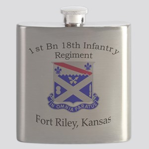 1st Bn 18th IN Flask