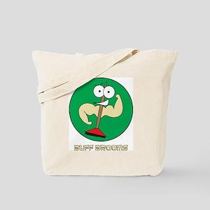 Buff Brooms Tote Bag