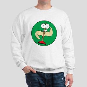 Buff Brooms (NO WORDS) Sweatshirt