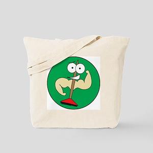 Buff Brooms (NO WORDS) Tote Bag