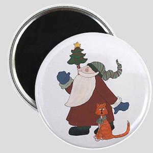 Juggling Santa Magnets