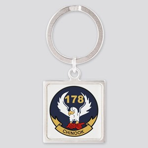 178th Assault Support Helicopter C Square Keychain