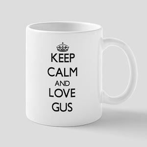 Keep Calm and Love Gus Mugs