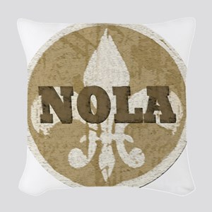 NOLA Woven Throw Pillow