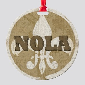 NOLA Round Ornament