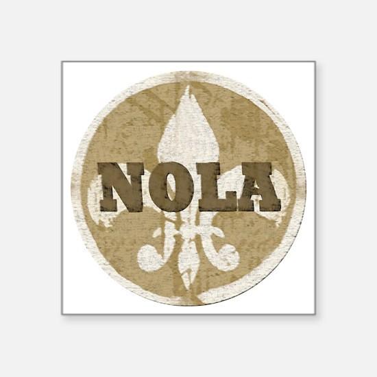 """NOLA Square Sticker 3"""" x 3"""""""