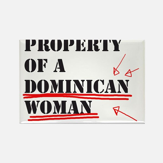 Dominican Rectangle Magnet