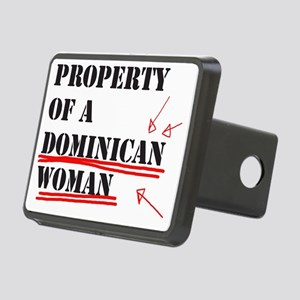 Dominican Rectangular Hitch Cover