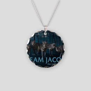 241bg Team Jacob Necklace Circle Charm