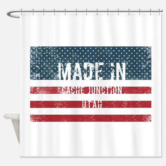 Made in Cache Junction, Utah Shower Curtain