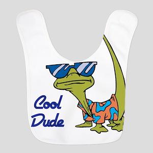 cool lizard Bib