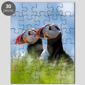 Puffin Pair 7.355x9.45 Puzzle