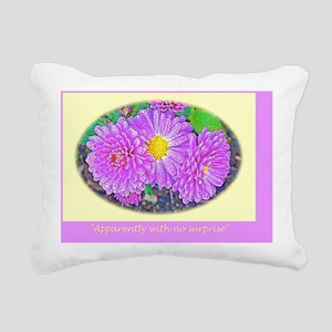 Emily Dickinson Poetry G Rectangular Canvas Pillow