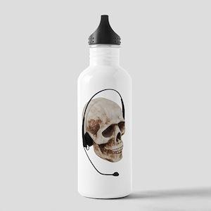 HeadphoneSkull042109 Stainless Water Bottle 1.0L
