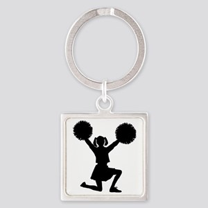 cheer.eps Square Keychain