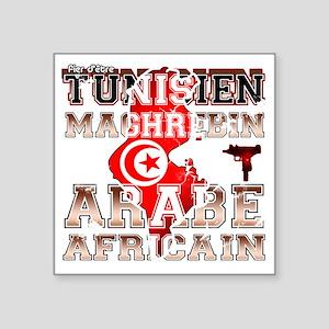 """Tunisien Square Sticker 3"""" x 3"""""""