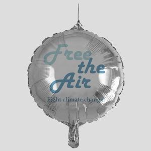 FreeTheAir. Mylar Balloon