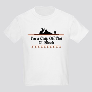 Chip off the ol' block Kids T-Shirt