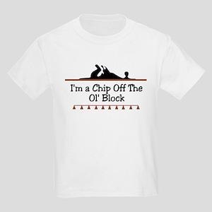 Chip off the ol' block Kids T-Shirt
