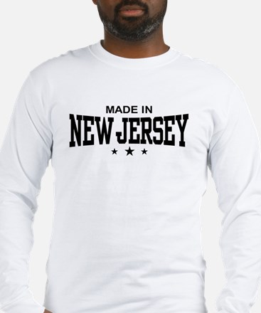 Made In New Jersey Long Sleeve T-Shirt