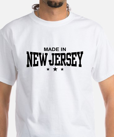 Made In New Jersey White T-Shirt