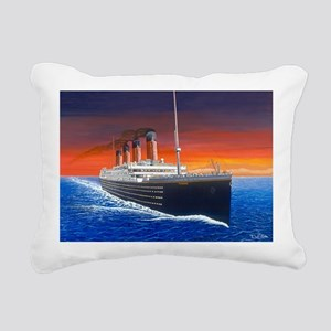 Titanic Rectangular Canvas Pillow