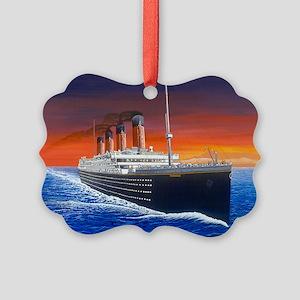 Titanic Picture Ornament