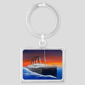 Titanic Landscape Keychain