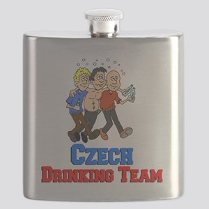 Czech Drinking Team Flask