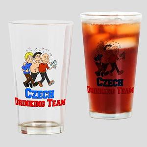 Czech Drinking Team Drinking Glass