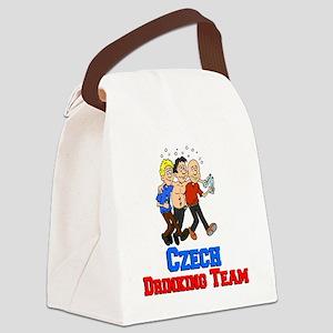 Czech Drinking Team Canvas Lunch Bag