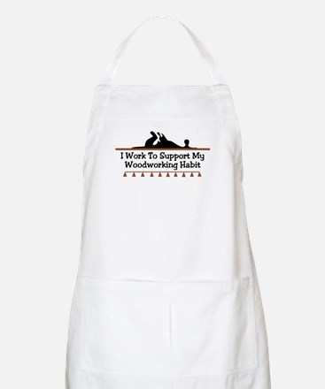 Work to support habit BBQ Apron