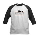 Work to support habit Kids Baseball Jersey