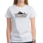 Work to support habit Women's T-Shirt