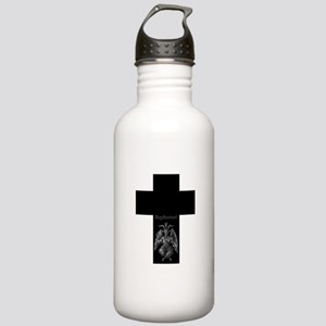 Baphomet Cross Stainless Water Bottle 1.0L