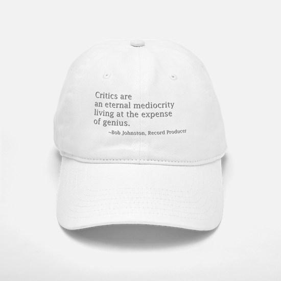 Critics.gif Baseball Baseball Cap