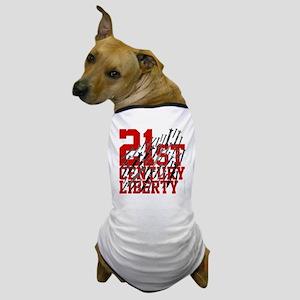 21st century liberty - missiles - war  Dog T-Shirt