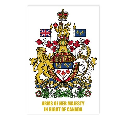 Canada COA Postcards (Package of 8)