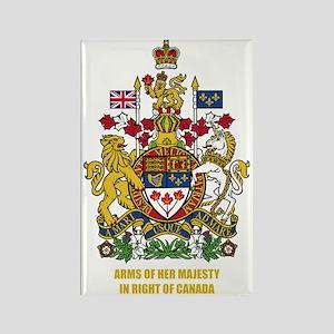 Canada COA Rectangle Magnet