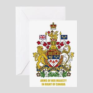 Canada COA Greeting Card
