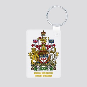 Canada COA Aluminum Photo Keychain