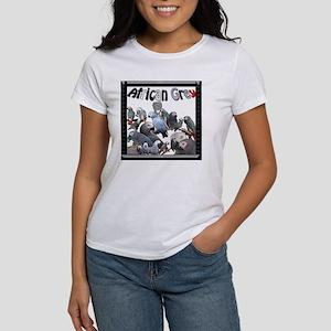 African Grey Mosaic2 Women's T-Shirt