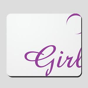 Team Jacob-Wolf girl Mousepad