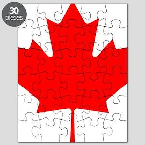 Canada Maple Leaf Puzzle