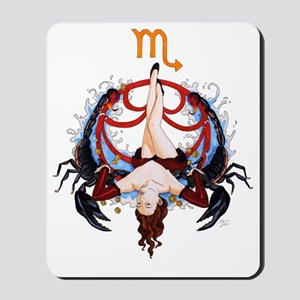 Scorpio_signed Mousepad