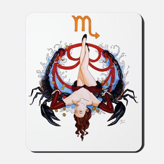 Scorpio_signed Mousepad